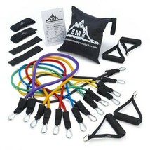 Ultimate Resistance Exercise Band Set with Starter Guide, Bag, Strengthe... - $137.42
