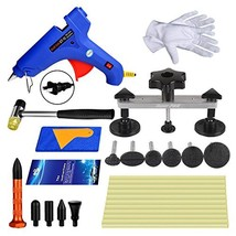 Super PDR Dent Puller Kit,27Pcs New PDR Auto CAR Body Paintless Dent Rep... - $32.16