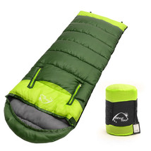 Splicing Sleeping Bag Hollow Cotton Thick Hiking Camping Climbing Outdoo... - $63.91