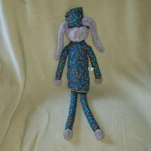 Manhattan Toy 2002 Stuffed Plush Bunny Rabbit Carrot Pajamas Purple Lave... - $128.69