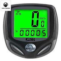 Bike Computer Speedometer Wireless Waterproof Bicycle Odometer Cycle Com... - $27.58
