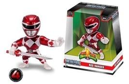 "Jada Limited Edition 4"" METALFIGS - Power Rangers - RED Ranger M334 99270"