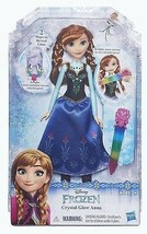 Frozen ANNA Doll Set Disney Crystal Glow NEW In Box 2016 - $13.36