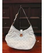 $3000+ Louis Vuitton Mahina XS Perforated Monogram Shoulder Hobo Bag White - $2,069.10