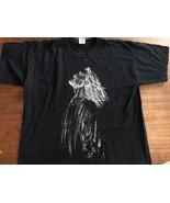 JERRY GARCIA GRATEFUL DEAD  T-Shirt  XL Black White Rare - $19.00