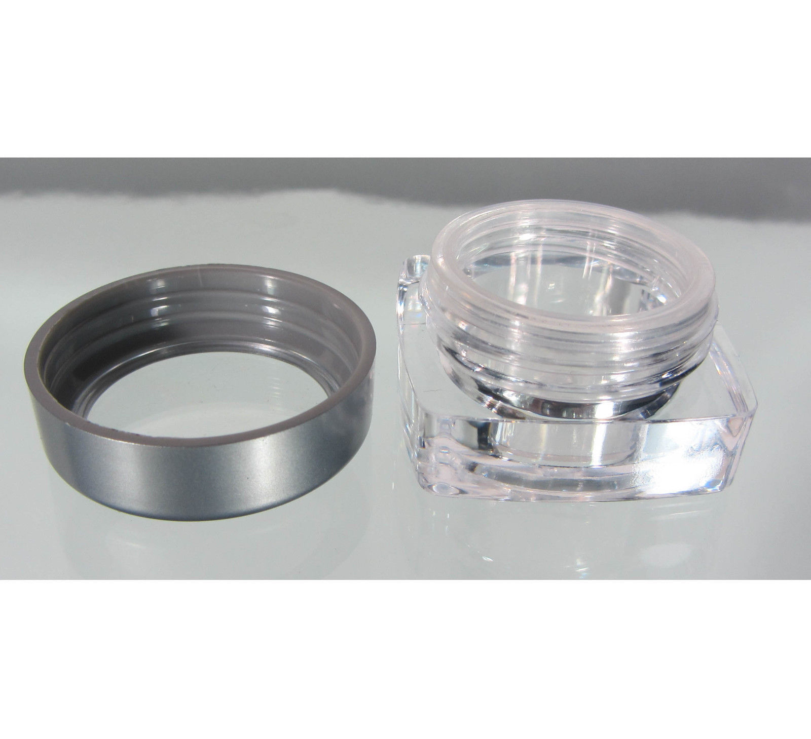 9c58e89edb25 50 Cosmetic Jars Square Beauty Containers 5 and 10 similar items