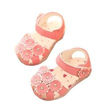 0-1-2 Years Old Baby Toddler Shoes Girls Summer Baby Sandals Princess Shoes