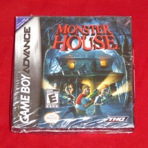 New Sealed NOS Monster House Nintendo Game Boy Advance THQ GBA - $12.82