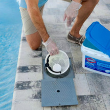 "Clorox Pool&Spa XtraBlue 3"" Chlorinating Tablets for Swimming Pools, 25lb image 5"