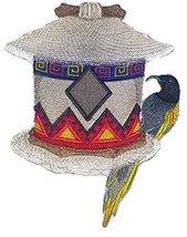 Custom and Unique,Amazing Birdhouse[ African Birdhouse With Golden Winge... - $16.82