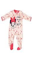 Jumpsuit Nouveau-né Avec Pied Minnie Couleur Rose Disney Taille 0-1/1-3/... - $16.65