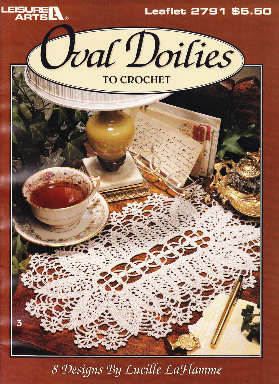 Primary image for OVAL DOILIES TO CROCHET 8 DESIGNS BY LaFLAMME