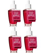4 Bath & Body Works Winter Candy Apple Wallflower Home Fragrance Refill ... - $26.50