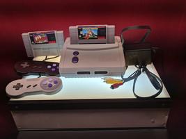 SNES Super Nintendo Jr RARE Original Console System TESTED WORKING SNS-101 - $79.99