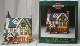 MEMORIES COLLECTION ILLUMINATED PORCELAIN Country Manor  - $24.74