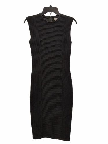 NWT NEW Women Helmut Lang Black Pencil Dress Size 00