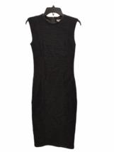 NWT NEW Women Helmut Lang Black Pencil Dress Size 00 image 1