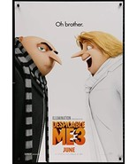 "Despicable Me 3-27""X40"" D/S Original Movie Poster One Sheet Steve Carell... - $19.59"