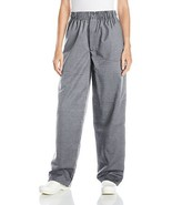 Uncommon Threads Unisex Baggy Chef Pant, Houndstooth, Small - $24.71