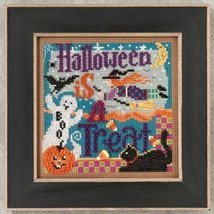 Halloween Is A Treat 2012 Autumn Series beaded button kit Mill Hill - $11.70