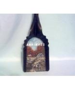 Coal Shovel Fall Design, Hand Painted, Vintage Collectible, Metal Art Wa... - $25.00
