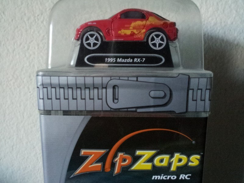 zip zaps micro radio control 1995 mazda rx 7 rc car 49mhz. Black Bedroom Furniture Sets. Home Design Ideas