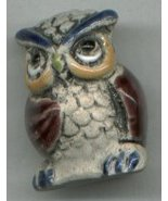 CERAMIC OWL BEAD - $5.00