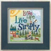 Live Simply 2012 Spring Series beaded button kit Mill Hill - $11.70