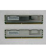 4GB 2X2GB KIT DELL 5300 FBDIMM PRECISION R5400 R5400-N T5400 T7400 RAM M... - $10.15