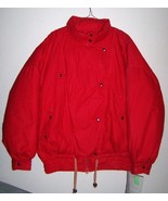 New pure down parka Cotton shell Red L $195 NWT... - $89.99