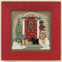 Home For Christmas 2011 Winter Series beaded button kit Mill Hill - $11.70