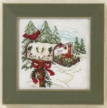 Holiday Delivery 2011 Winter Series beaded button kit Mill Hill - $11.70