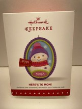 Hallmark 2015 QGO1217 Here's to Mom! Snowman Ornament - $5.89