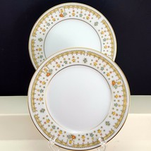 Fine China of Japan Garden Bouquet 4078 Bread Butter Plates Set of 2 Flo... - $8.91