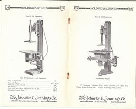 Scarce Vintage Tool Catalog from Johnston & Jennings Cleveland Ohio, Cir... - $22.00