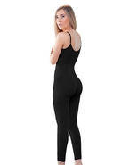 Black Post Surgery Long Leg Compression Garment Stage 1 Bodysuit to Size... - $99.95