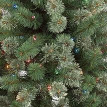 6ft Pre-lit Artificial Christmas Tree Virginia Pine with Multicolored Lights NIB image 3