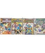 The Eternals Vol. 2 Lot (4) #5, 8, 11, 12 (Marvel Comics 1985) Next MCU ... - $19.79