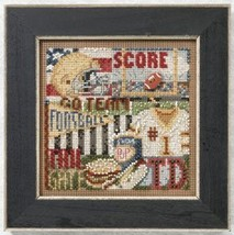 Football Hero 2011 Autumn Series beaded button kit Mill Hill - $11.70