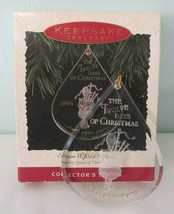 Eleven Pipers Piping Hallmark 1994 Collectors Ornament Twelve Days of Ch... - $15.00