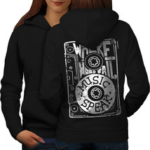 Where Word Fail Sweatshirt Hoody Music Speak Women Hoodie Back - $21.99+