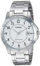 Casio MTP-V004D-7B White Dial Stainless Steel Watch - $37.43