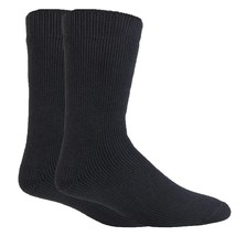 Heat Force - 2 Pack Mens Winter Warm Thick Thermal Crew Socks, 3 Colors, 7-12 US - $10.99