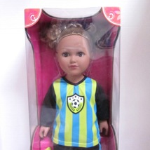 "My Life as a Soccer Captian Player 18"" Doll Tan Skin / Brown Eyes / Blonde Hair - $29.99"