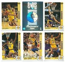 1991-92 Los Angeles Lakers Paris McDonald's Open Sets #1 and #2 - Unopen... - $19.75