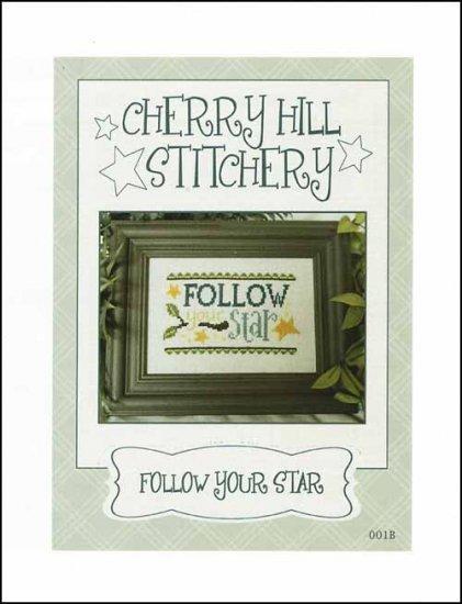 Follow Your Star cross stitch chart Cherry Hill Stitchery