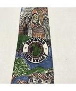 Beringer Napa Valley Winery  Men's Neck Tie  Hand Made Heather Nichols - $15.94