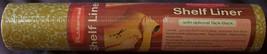 """Vintage 1975 Rubbermaid Tack-Back Vinyl Shelf Drawer Liner 12""""x10' Harve... - $15.91"""