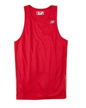 E3 Cherry Red 3XL N9138 New Balance Men Tempo Running Singlet Muscle Tan... - $7.10
