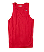 E3 Cherry Red 3XL N9138 New Balance Men Tempo Running Singlet Muscle Tan... - $7.10